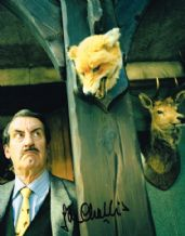 John Challis Autograph Signed Photo - The Green Green Grass